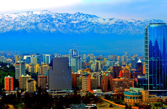 Santiago Chile HD Wallpaper