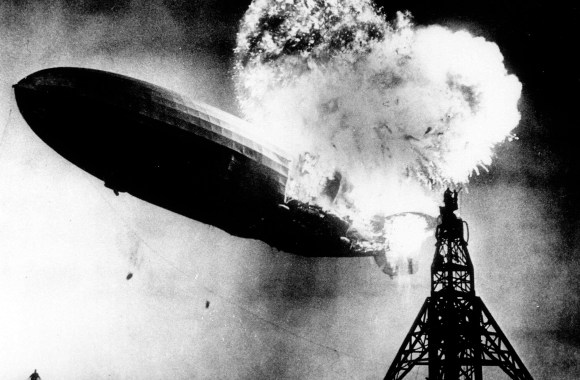 Hindenburg Disaster HD Wallpaper