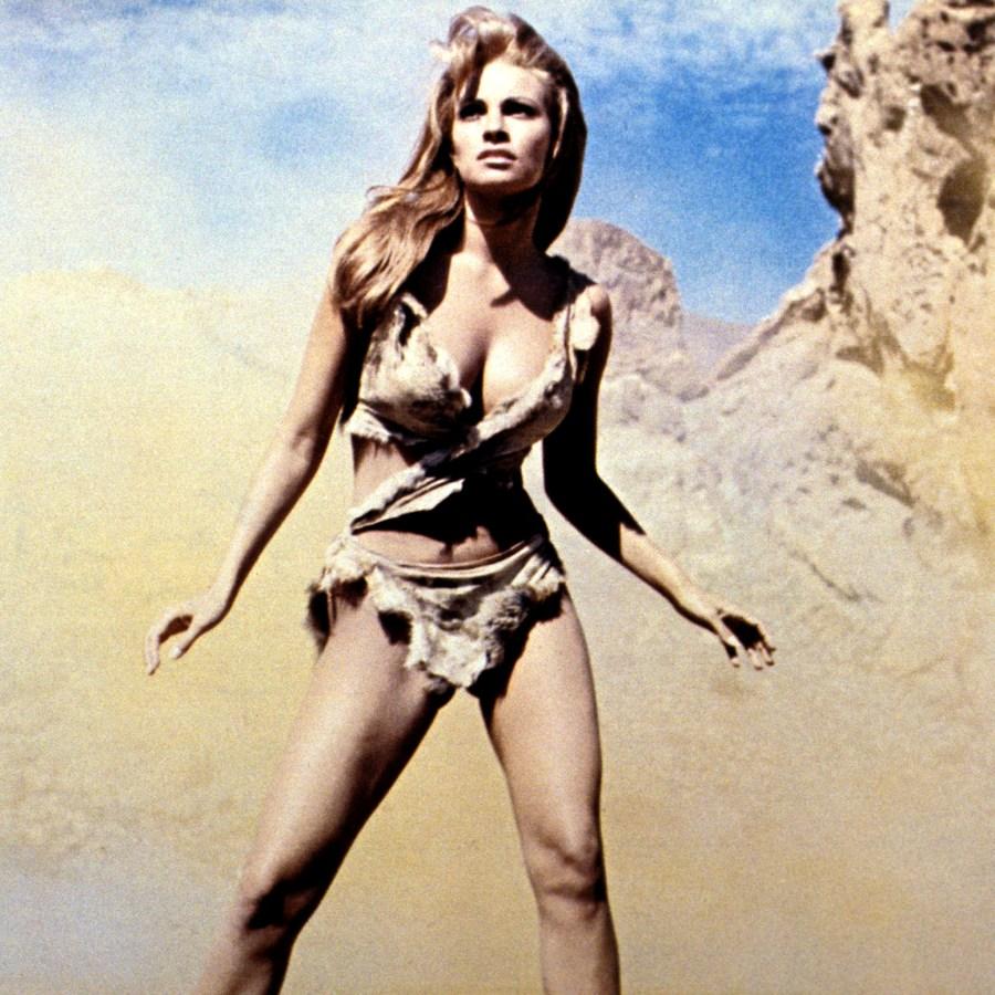 Sexy Raquel Welch HD Wallpaper