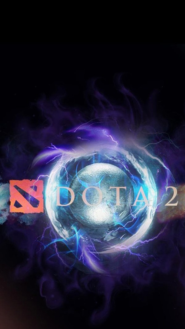 Dota 2 Logo 2 - Wallpapers for iPhone