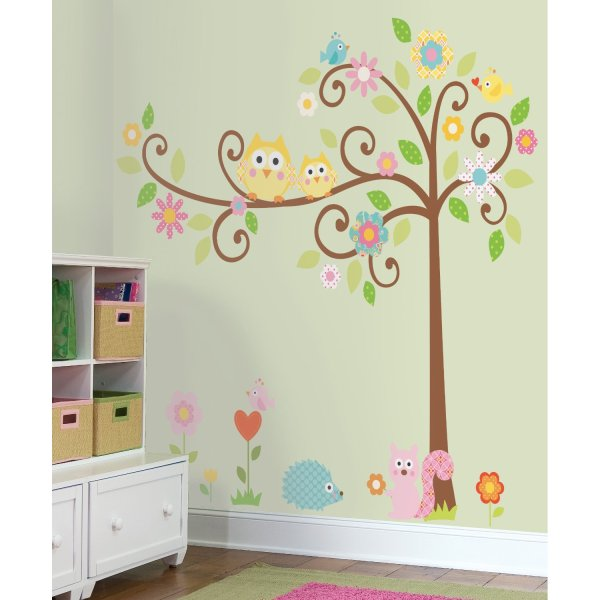 kids bedroom sticker wall murals how to paint a tree mural   Off the Wall