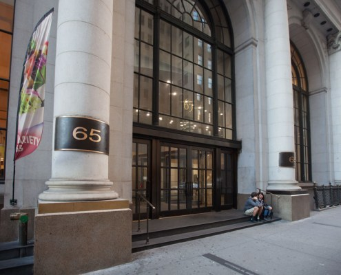65 Broadway building entrance