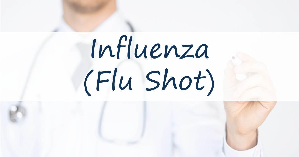 Infulenza (Flu Shot) Vaccination