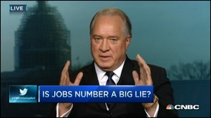 Gallup CEO, Jim Clifton, Worries Aloud on CNBC That He Might Disappear for Criticizing the Government's Job Numbers