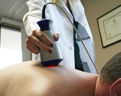 Laser Massage at Wall Street Pain Relief