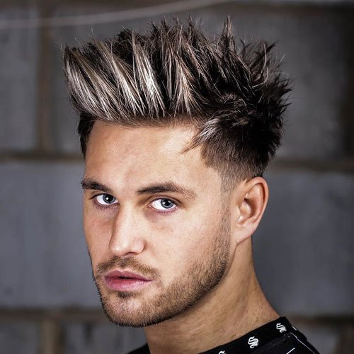 New 23 Best Spiky Hair Ideas And Styles For Men 2019 Update Ideas With Pictures