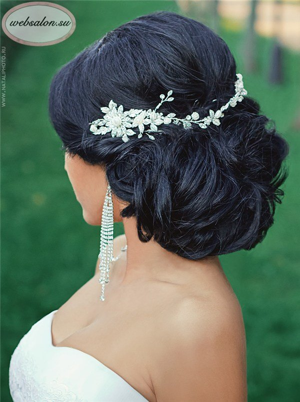 New Top 25 Stylish Bridal Wedding Hairstyles For Long Hair Deer Pearl Flowers Ideas With Pictures