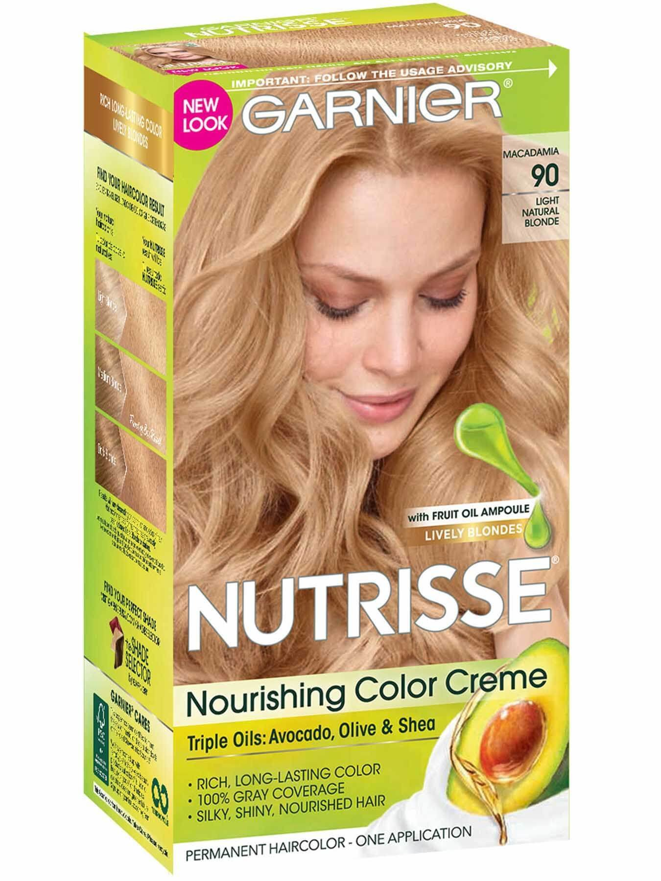New Nutrisse Nourishing Color Creme Light Natural Blonde 90 Ideas With Pictures