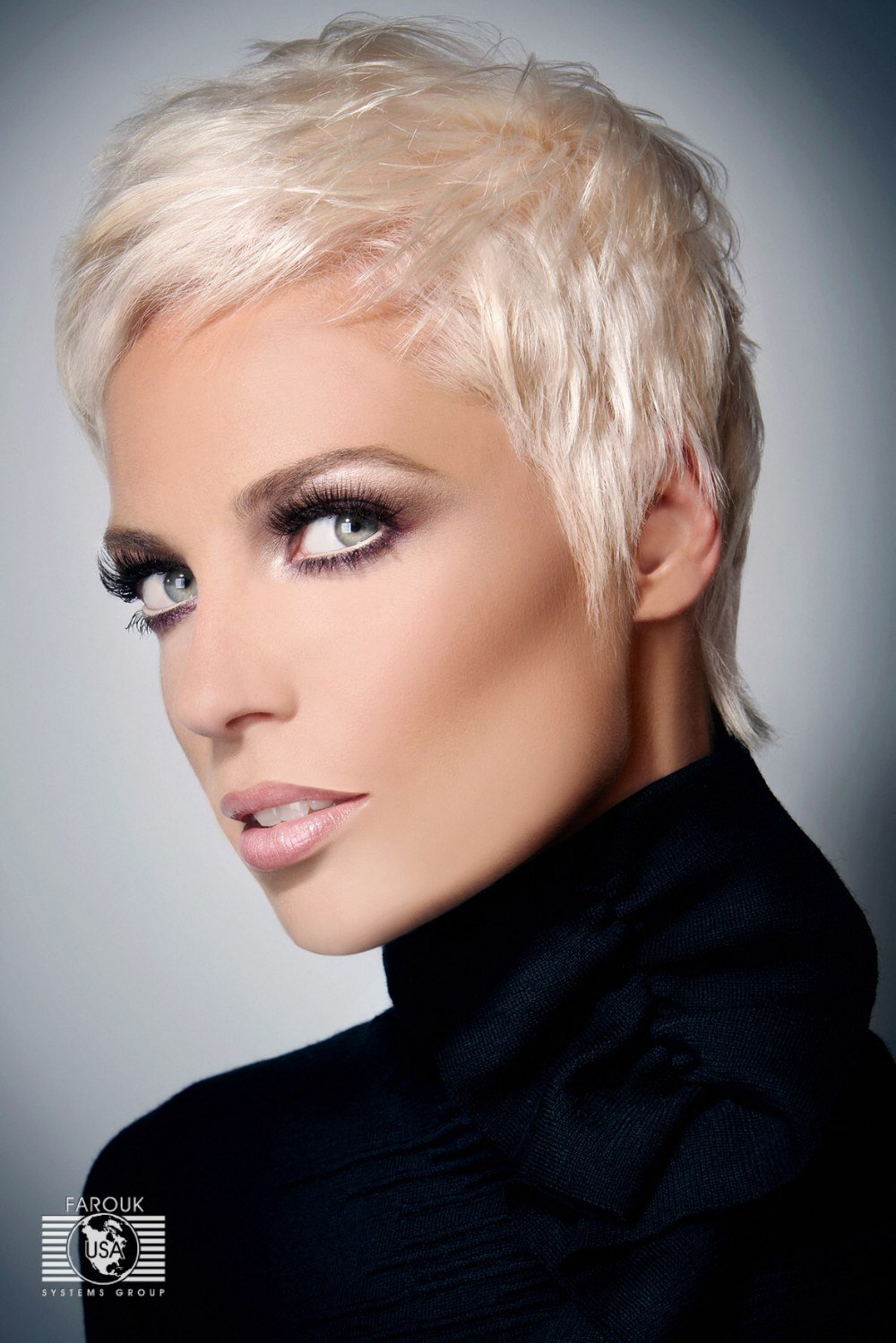 New Very Short Blonde Hairstyle Annie Lenox Or Pink Look Ideas With Pictures