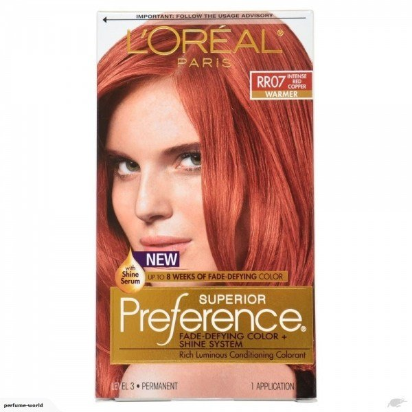 New Loreal Preference Hair Color Rr07 Intense Red Copper Ideas With Pictures