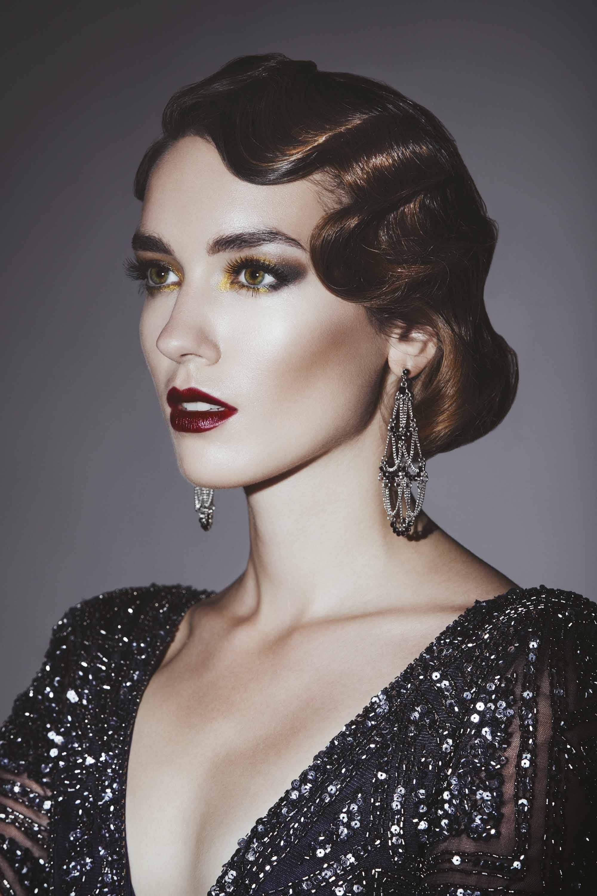 New 11 Great Gatsby Inspired Hair Ideas For Halloween And Ideas With Pictures
