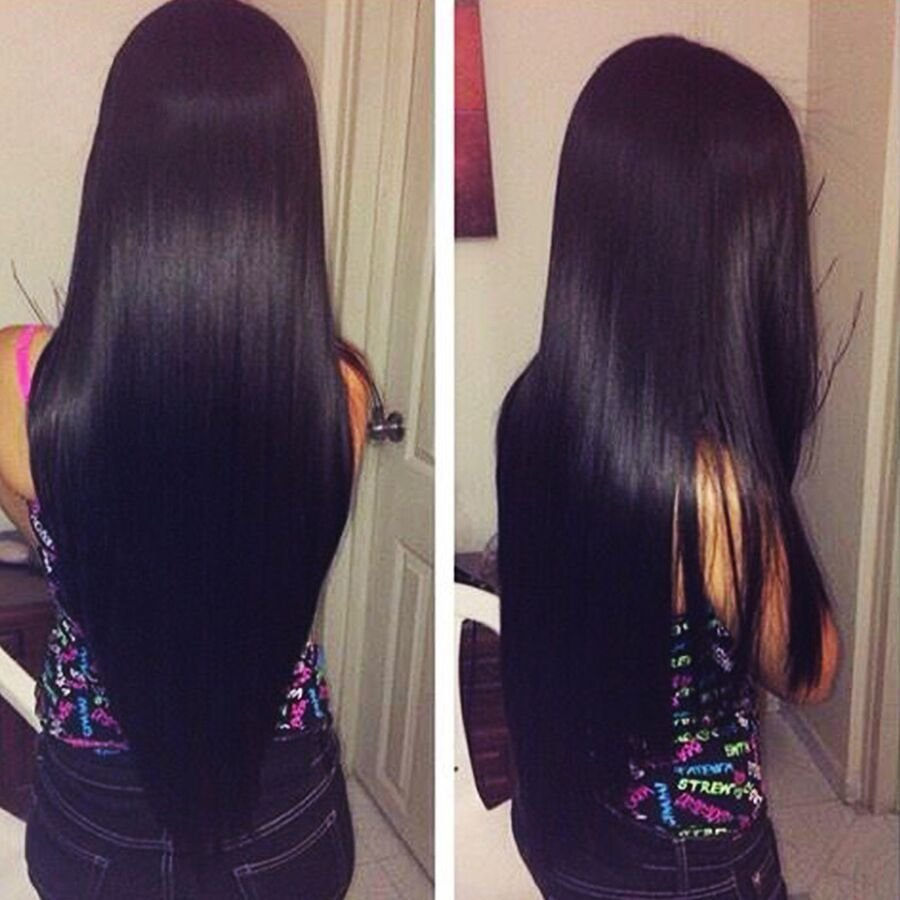 New 7A Indian V*Rg*N Hair Straight Human Hair Extensions Raw Ideas With Pictures