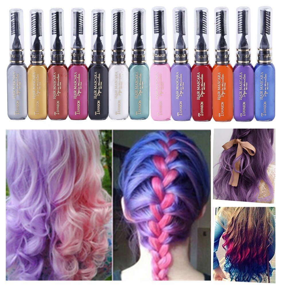 New 2018 Professional Diy Temporary Instant Hair Color Dye Ideas With Pictures