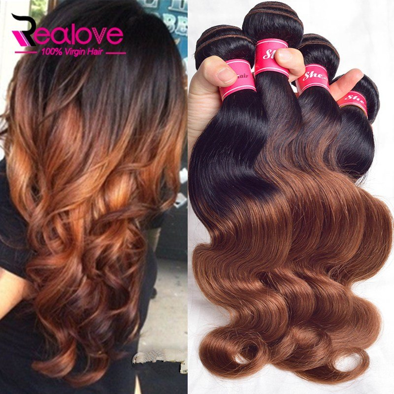 New Brazilian Body Wave 4 Bundles T1B 33 Ombre Brazilian Hair Ideas With Pictures