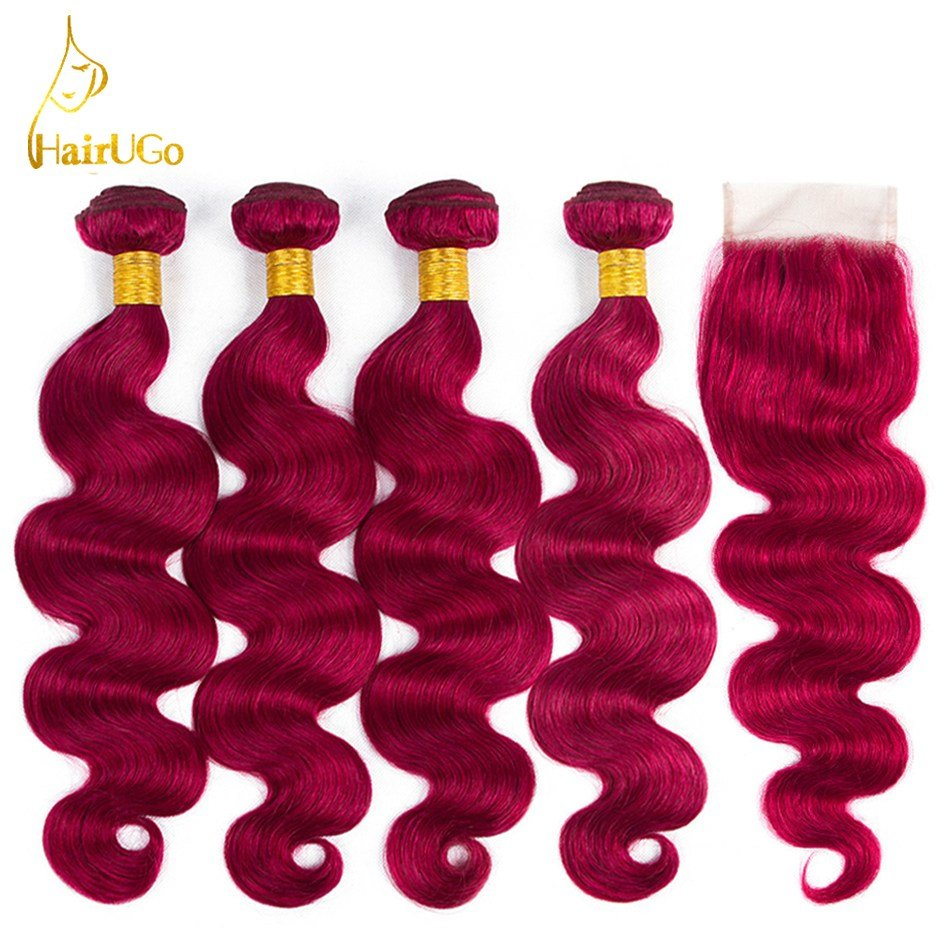 New Hairugo Hair Pre Colored Peruvian Body Wave Bundles Hair Ideas With Pictures