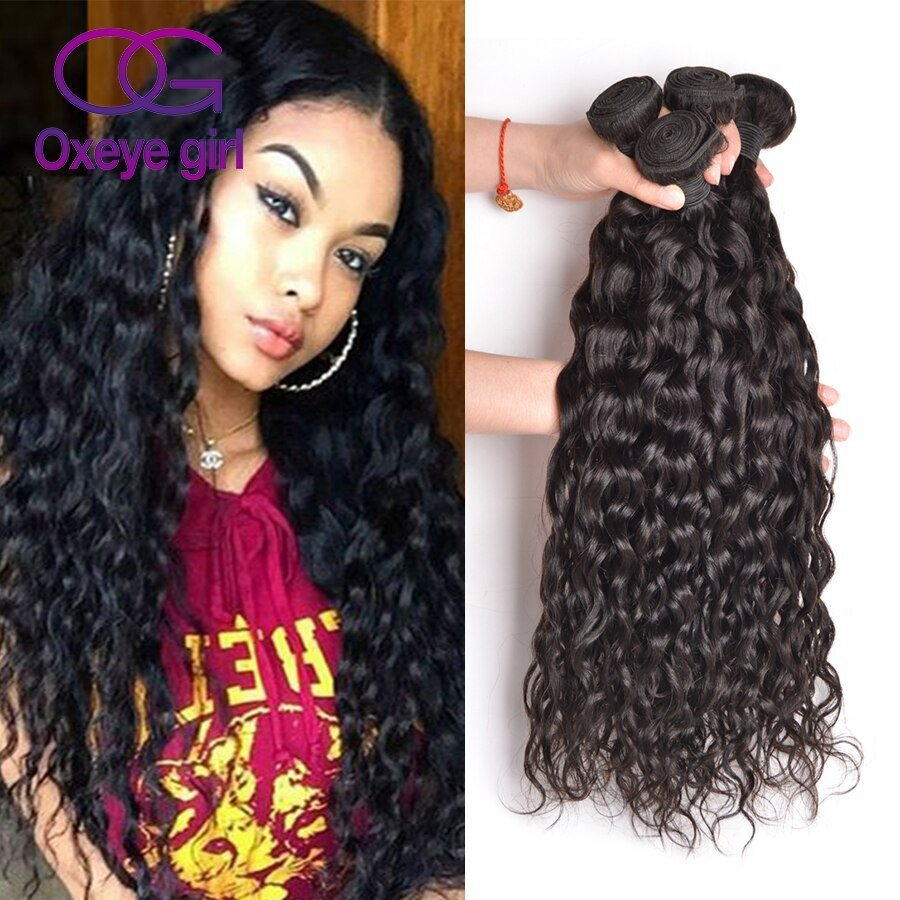New Peruvian V*Rg*N Hair Natural Wave 4 Bundles Wet And Wavy Ideas With Pictures