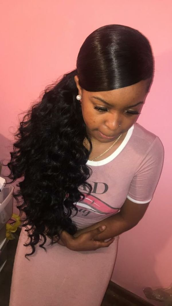 New Black Girl Ponytail Styles 26 Ponytail Hairstyles For Ideas With Pictures