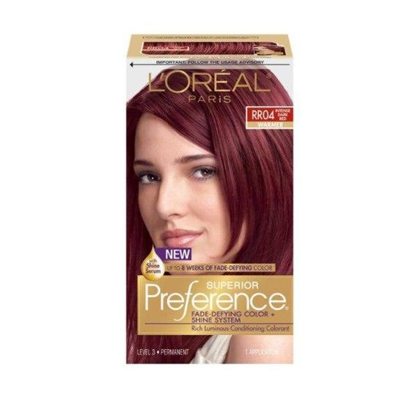 New Shop L Oreal Superior Preference Intense Dark Red Rr04 Ideas With Pictures
