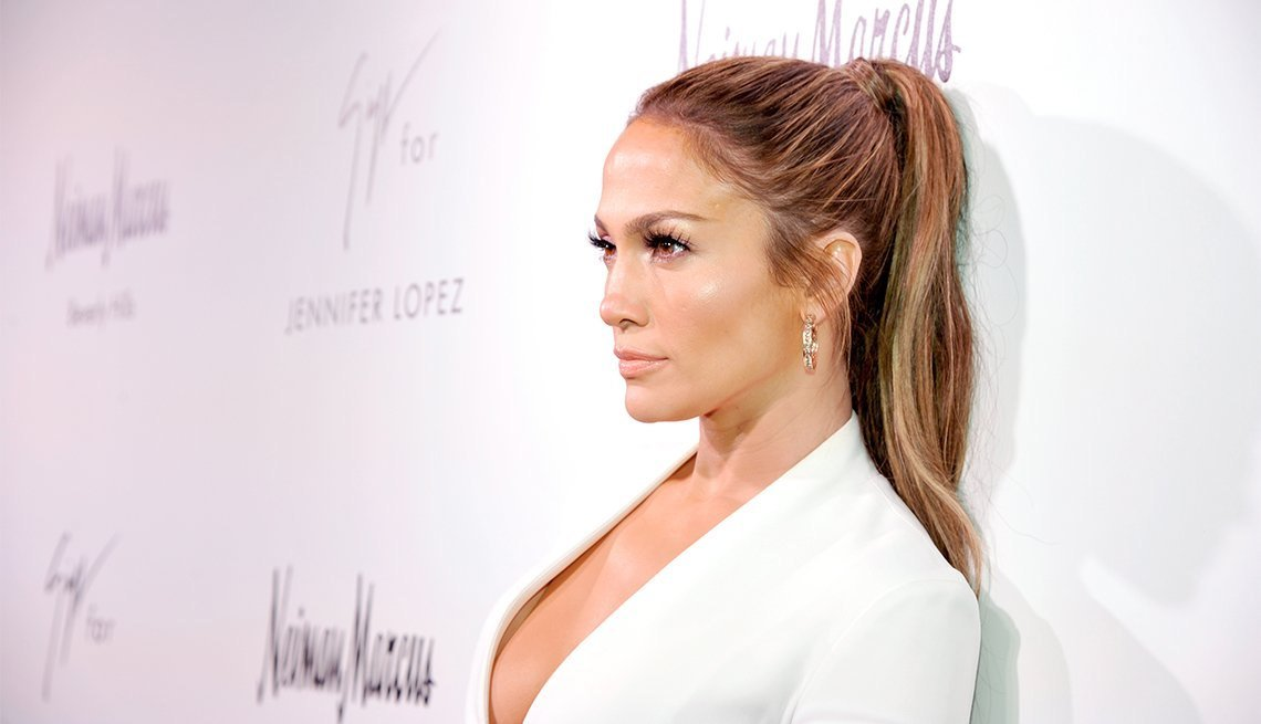 New Jennifer Lopez The Ponytail Ideas With Pictures