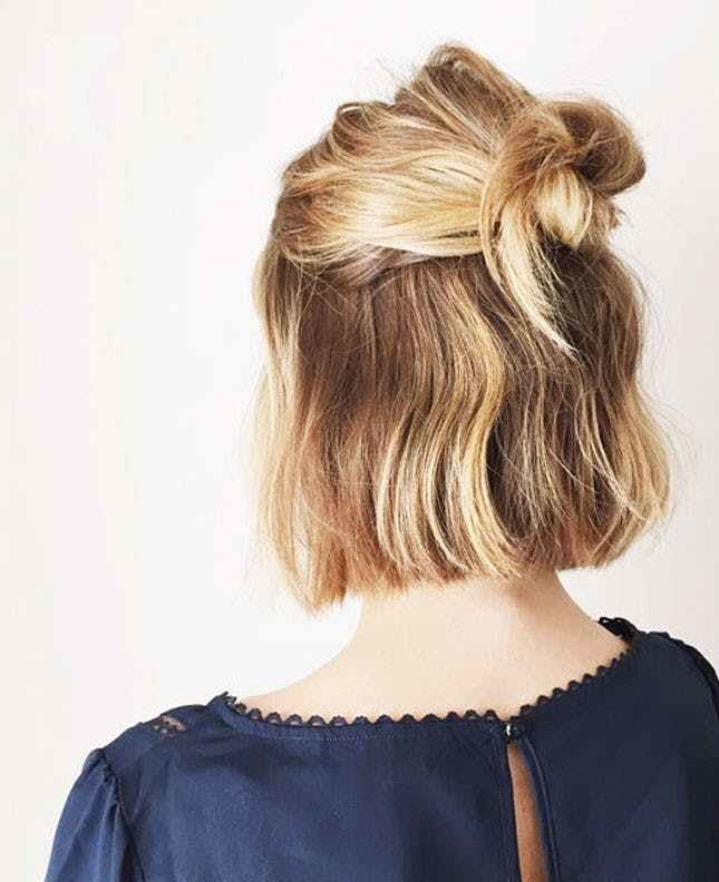 New 12 Second Day Hairstyles You Can Wear To Work Brit Co Ideas With Pictures