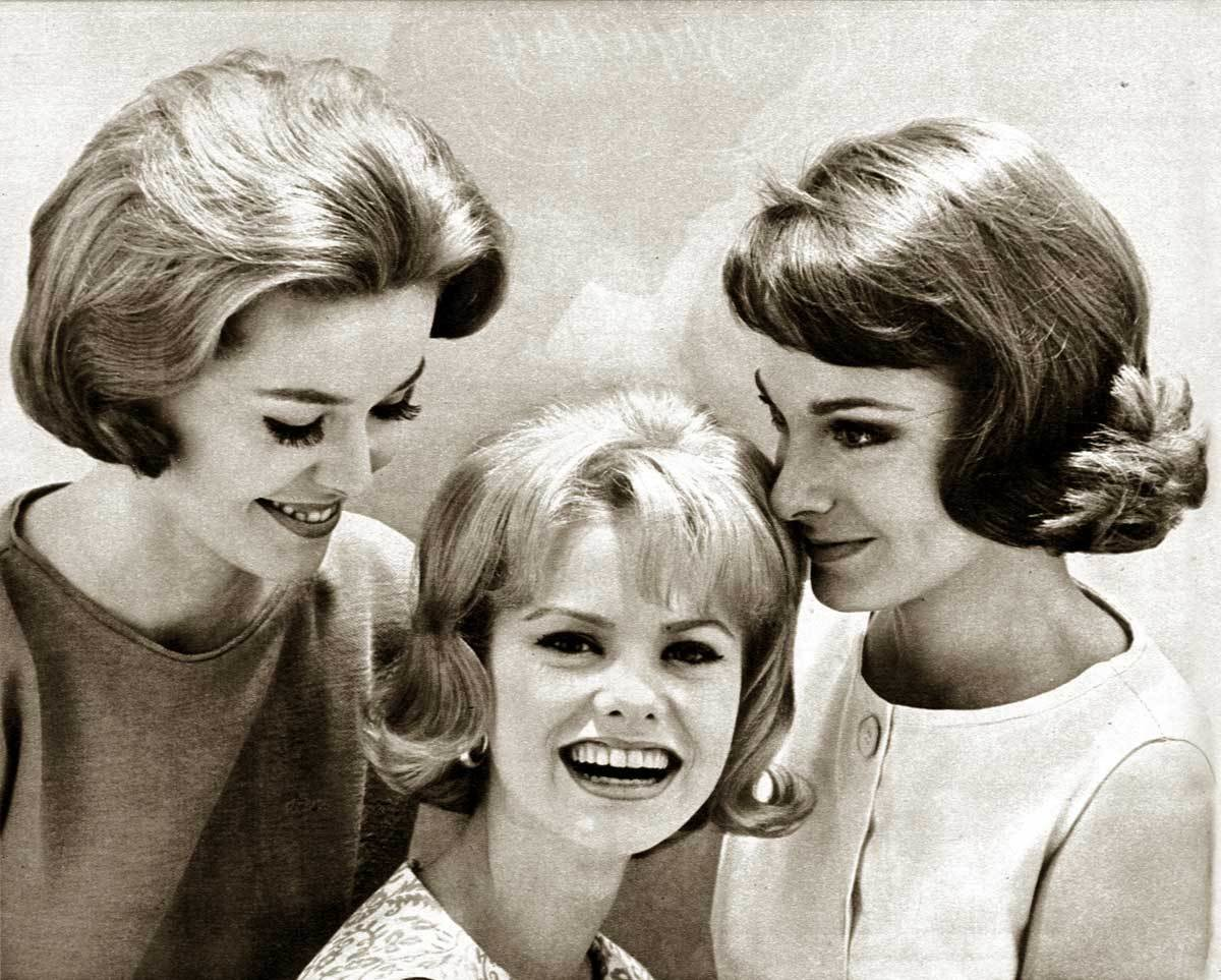 New 1960S Hairstyles Six Popular Coiffures In 1962 Glamour Ideas With Pictures
