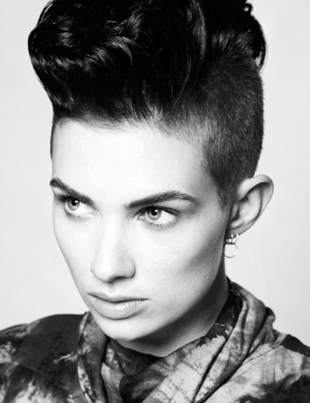 New Best 25 Half Shaved Hairstyles Ideas On Pinterest Half Ideas With Pictures
