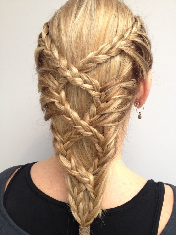 New Braided Back Hairstyle Inspiration Hairstyles Hair Ideas With Pictures