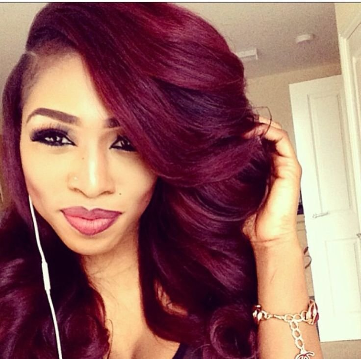 New Best 25 Burgundy Hair Colour Ideas On Pinterest Purple Ideas With Pictures