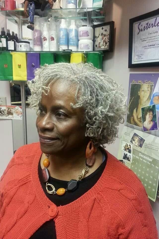 New Silver Sisterlocks Sisterlocks Natural Hair Styles Ideas With Pictures