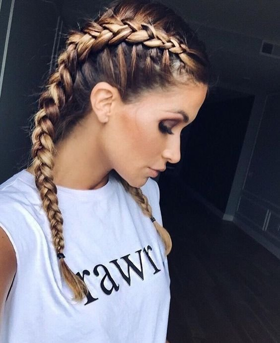 New Best 25 Two French Braids Ideas On Pinterest Two Dutch Ideas With Pictures