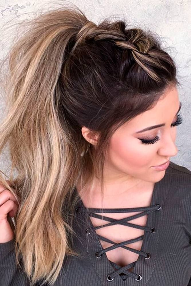 New 59 Easy Ponytail Hairstyles For School Ideas Hairstylest Ideas With Pictures