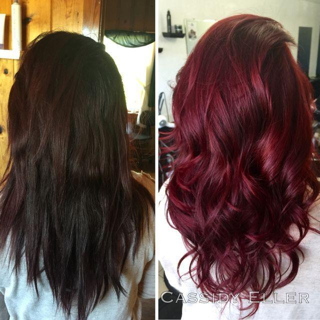 New Best 25 Wine Hair Ideas On Pinterest Wine Colored Hair Ideas With Pictures