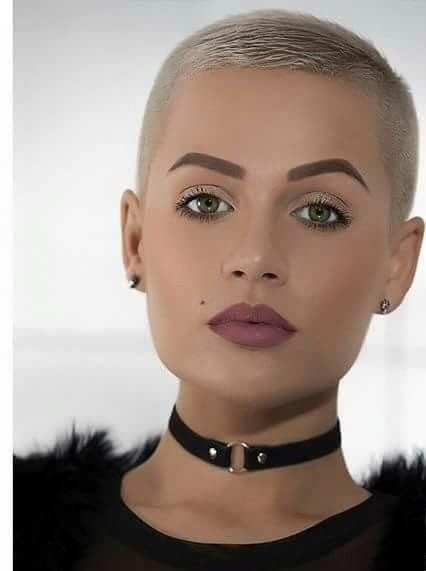 New 348 Best Ultra Short Crops Images On Pinterest Buzz Cuts Ideas With Pictures