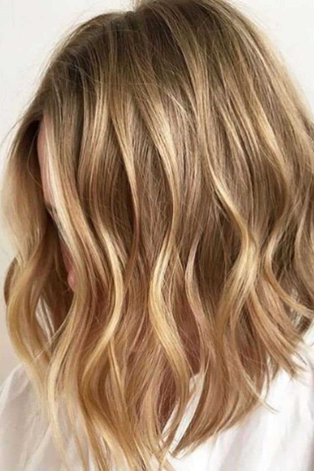 New 36 Blonde Balayage With Caramel Honey Copper Highlights Ideas With Pictures