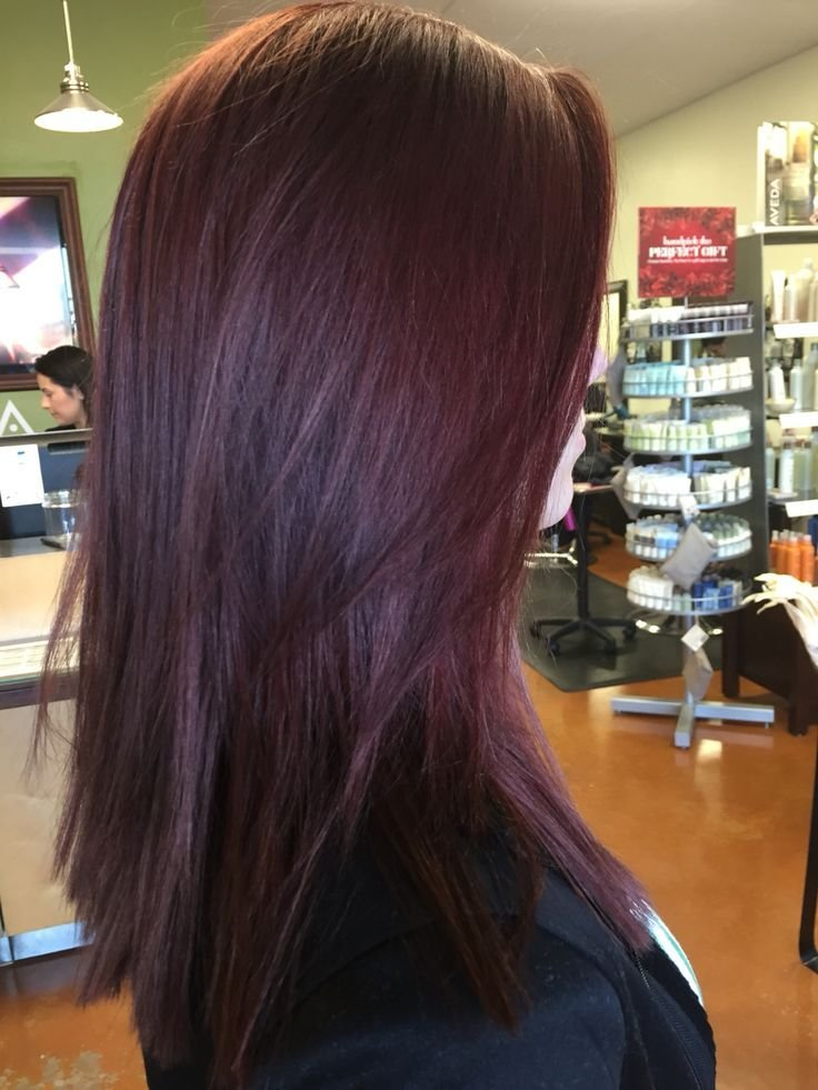 New Best 25 Eggplant Hair Colors Ideas On Pinterest Deep Violet Hair Plum Hair And Violet Hair Ideas With Pictures