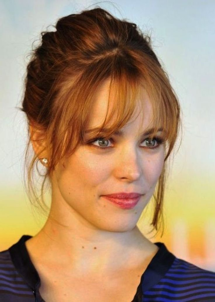 New Hairstyles For Big Forehead Hair Nails Makeup In Ideas With Pictures