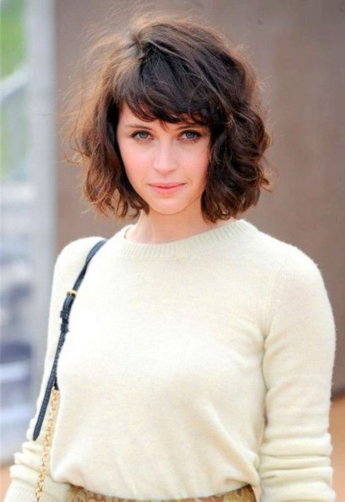 New Bangs Short Bangs And Curly Hair On Pinterest Fringe Short Ideas With Pictures