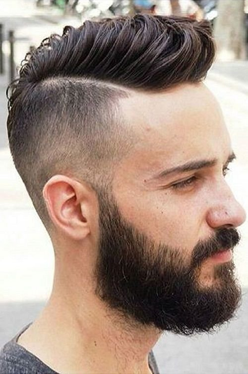 New 23 Men Haircuts With Beard 2018 2019 Men S Haircuts Ideas With Pictures