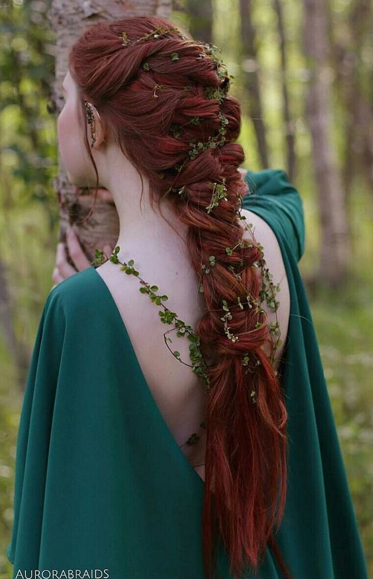 New Best 285 Viking Celtic Medieval Elven Braided Hair Ideas On Pinterest Auburn Hair Ideas With Pictures