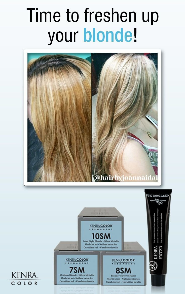 New Formula Kenra Color® 8Sm 20 Volume On The Roots Toned Ideas With Pictures