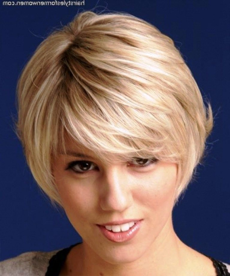 New Short Hairstyles For Older Women With Thick Hair Short Ideas With Pictures