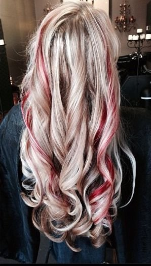 New Blonde With Red ♛ Нαιя Ѕтуℓєѕ Ι ℓσσνє ♛ Blonde Hair Ideas With Pictures