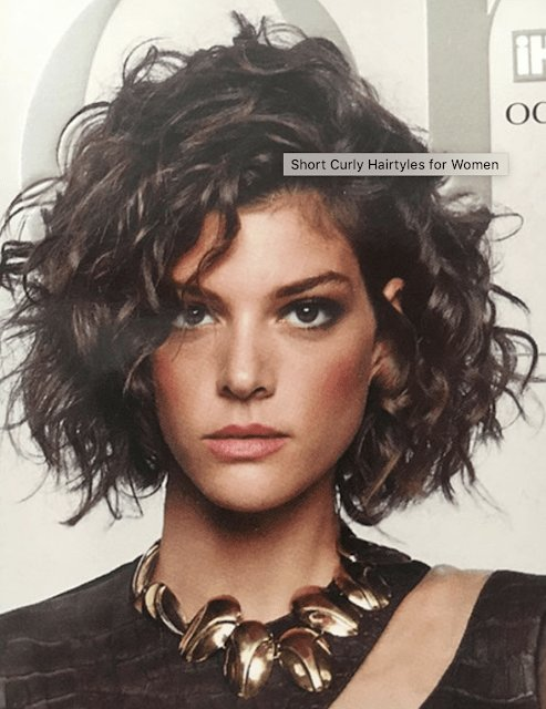 New Newest Curly Hairstyle 2019 Hair In 2019 Short Curly Ideas With Pictures