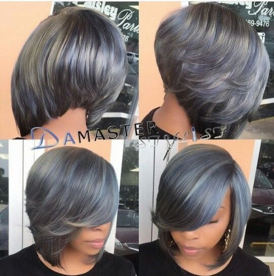 New Grey Bob Quick Weave Bob Styles In 2019 Wig Hairstyles Hair Styles Quick Weave Hairstyles Ideas With Pictures