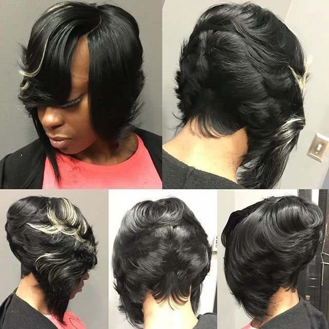 New Invisible Part Bob With 27 Piece In The Back No Hair Out Ideas With Pictures