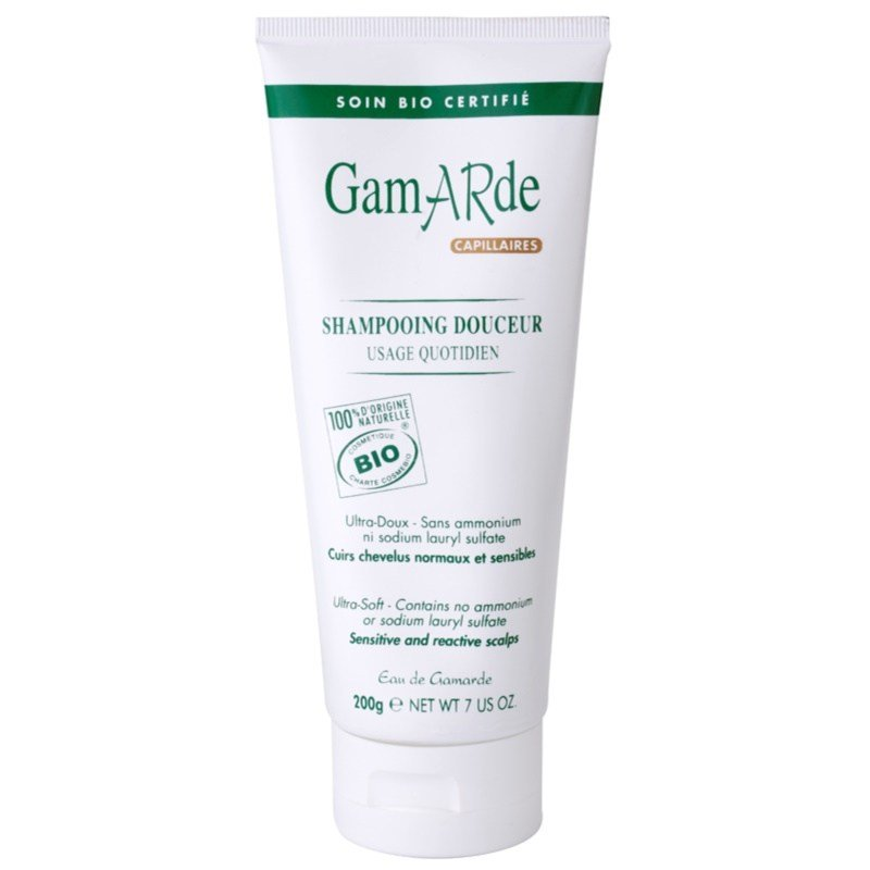 New Gamarde Hair Care Shampoo For Sensitive Scalp Notino Co Uk Ideas With Pictures