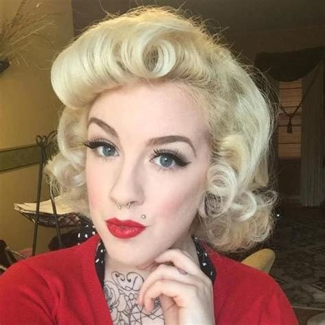 New 40 Pin Up Hairstyles For The Vintage Loving Girl Ideas With Pictures