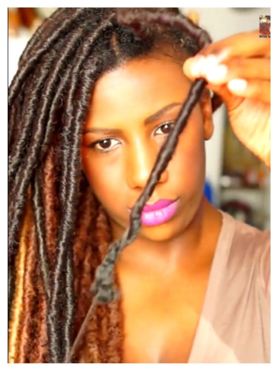 New 2 Ways To Take Down Faux Locs Quickly And Without Breakage Black Girl With Long Hair Ideas With Pictures