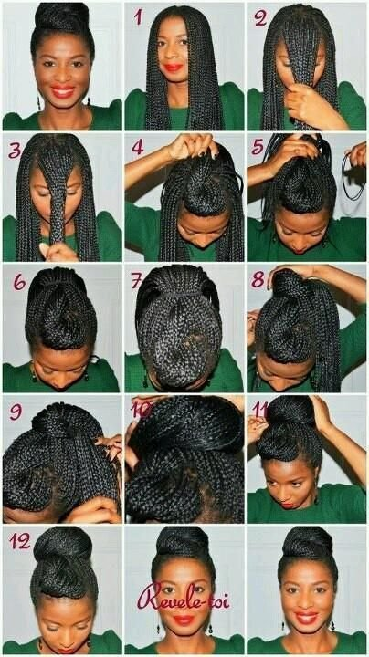 New 10 Instructions Directing You On How To Style Box Braids Ideas With Pictures