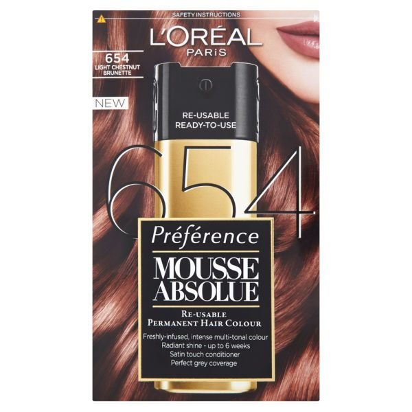 New L Oreal Paris Preference Mousse Absolue 654 Light Ideas With Pictures